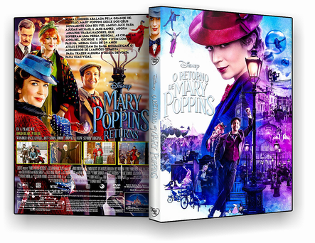 O Retorno de Mary Poppins 2019 DVD-R