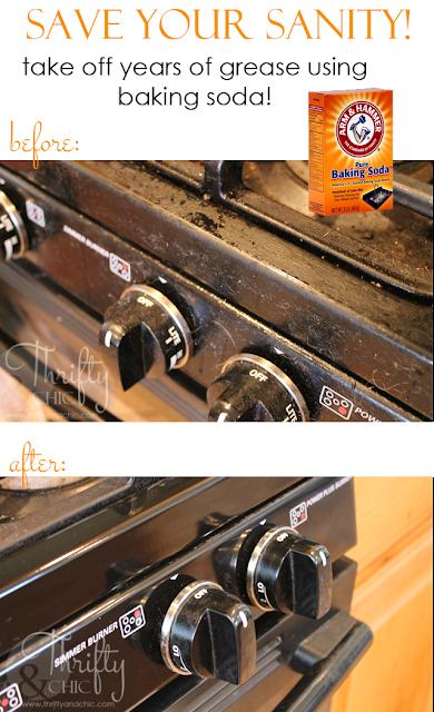 如何清洁您的家电顽固的润滑脂