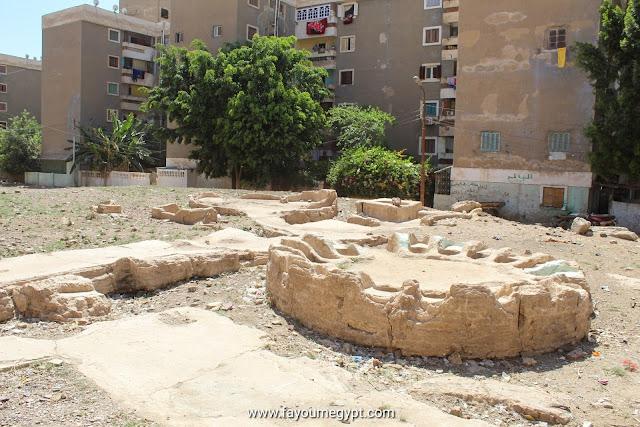 الحمامات اليونانية القديمة في مدينة الفيوم