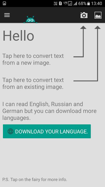Pilih bahasanya Text Fairy