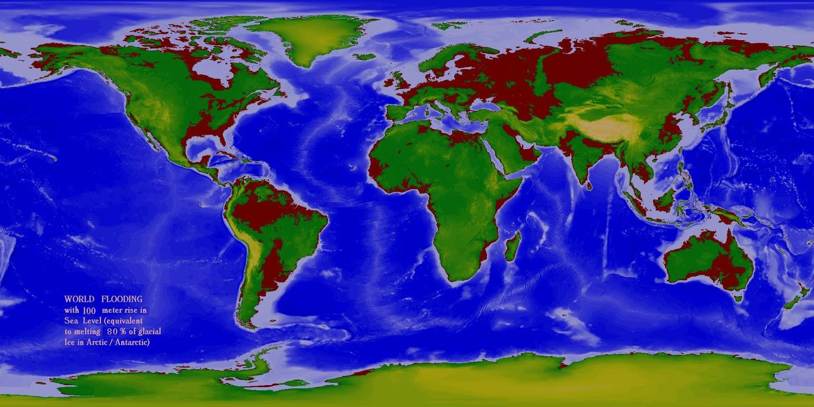 map sea level