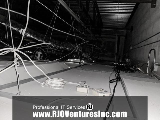 How to Install Surveillance Cameras. Location: West Palm Beach, Florida. Small Business Storefront [RJOVenturesInc.com]