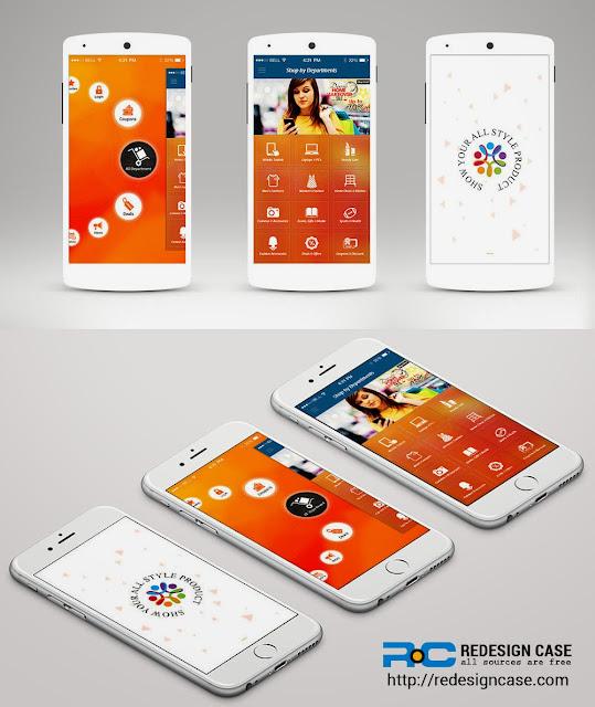 Shopping Ecommerce App UI