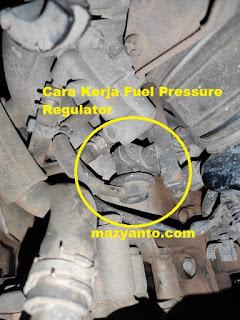 Begini Fungsi dan Cara Kerja Fuel Pressure Regulator