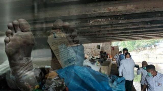 Anak dari Pemulung yang Ditemui Risma di Kolong Jembatan Pegangsaan Meninggal