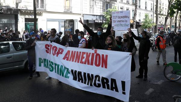 PARIS : LA MANIFESTATION PRO PALESTINIENNE MAINTENUE MALGRÉ L'INTERDICTION DE LA PRÉFECTURE