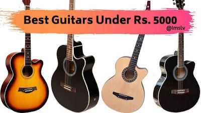 guitars under 5000
