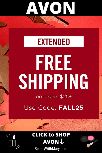 Avon Free Shipping on $25 October 2019