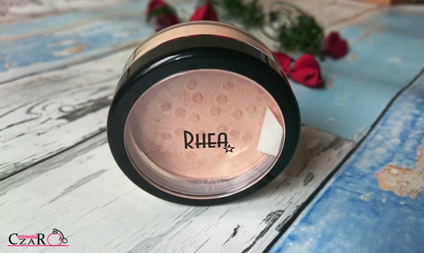 Rhea, mineralny podkład w proszku