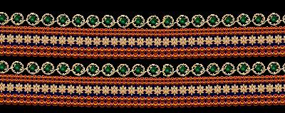 Textile-design-jwellery-border
