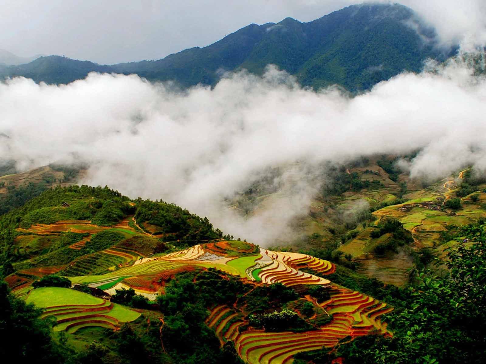 Around the town of Sapa is the mysterious village