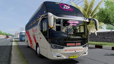 Mod Bus Laksana SR2 XHD PRIME – ETS2 1.38