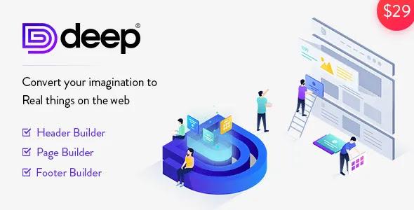 Deep-v4.1.3-Creative-Multi-Purpose-WordPress-Theme