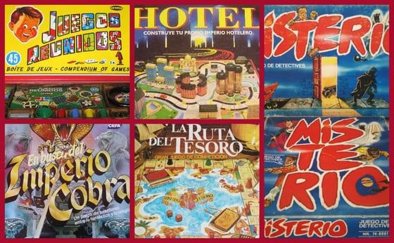 5 Juegos de Mesa Míticos de los 80