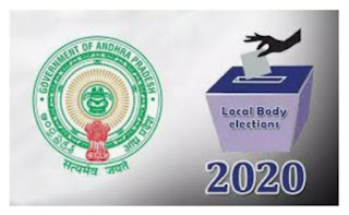 Election of local bodies in Andhra Pradesh
