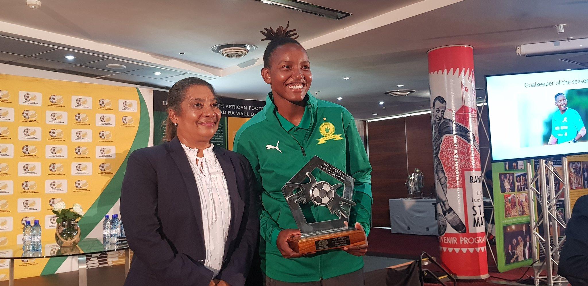 2019/20 Goalkeeper of the Season: Masandawana's Andile Dlamini