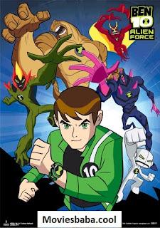 Ben 10: Alien Force (2008-2010) Season 3 Complete Hindi WEB-DL 360p