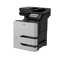 Sharp MX-C507F Driver Printer