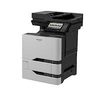 Sharp MX-C407F Driver Printer