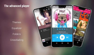 تطبيق تشغيل الموسيقى Rocket Music Player مدفوع للأندرويد - تحميل مباشر