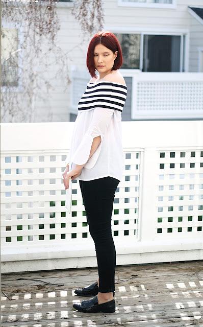 monochrome, fashion, shein, affordable fashion, womenswear, fashion blogger