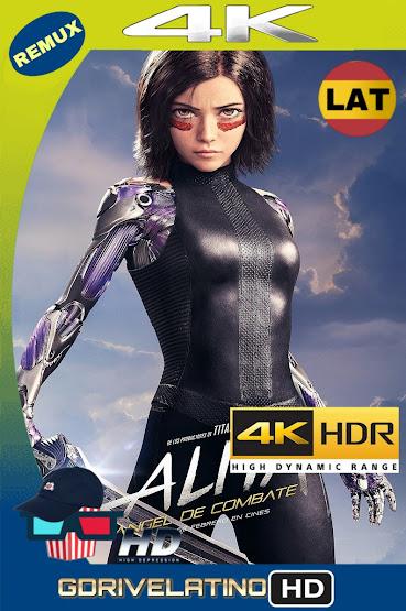Alita: Ángel de Combate (2019) BDRemux 4K HDR Latino-Ingles MKV