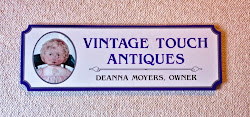 Vintage Touch Shop Sign