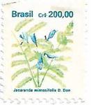 Selo Jacarandá-mimoso