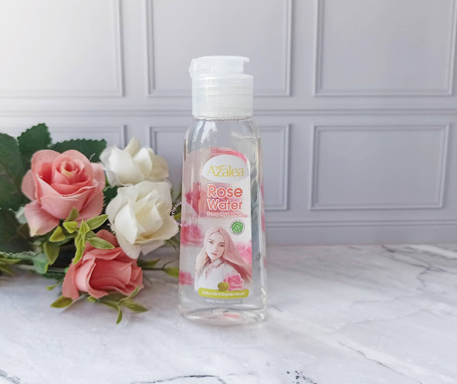 review azalea rose water