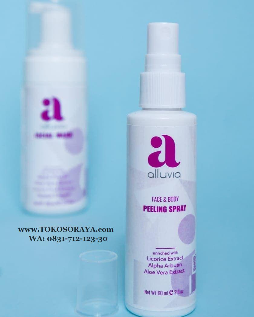 gambar produk alluvia peeling spray