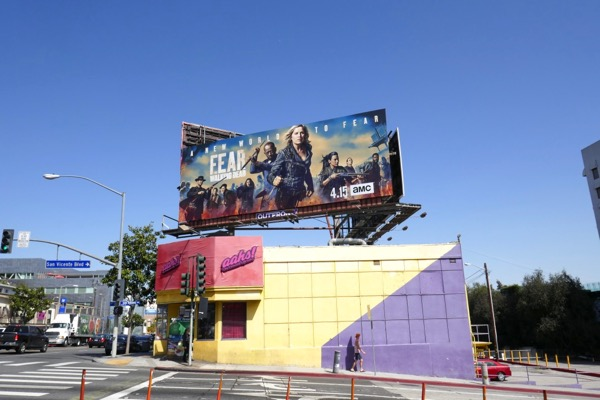 Fear Walking Dead season 4 billboard