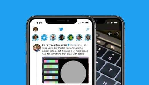 Twitter Highlights Fleets Below Specific Tweets