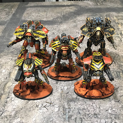 Loyal Titans for Adeptus Titanicus