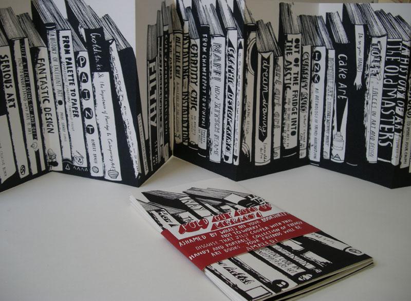 Bookshelf Fold Out Up