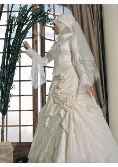 harga gaun pengantin muslimah