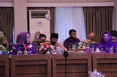 Gubernur Lampung Pimpin Rapat Evaluasi Percepatan Penanganan Covid -19 di Provinsi Lampung