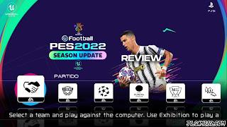 NOVO FOOTBALL 2022 PPSSPP ANDROID ATUALIZADOS