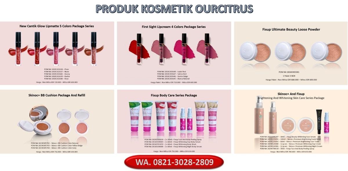produk kosmetik ourcitrus