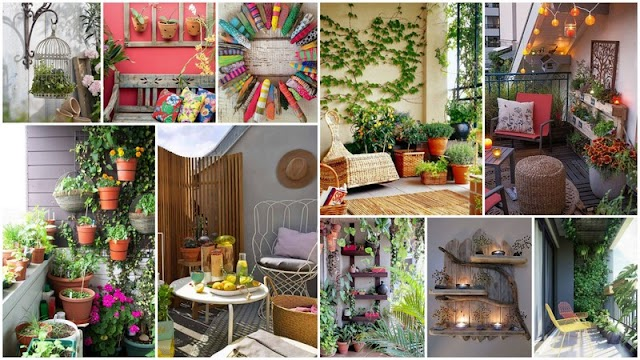 Ιδέες και τρόποι για να ομορφύνετε τους τοίχους στο Καλοκαιρινό Μπαλκόνι σας