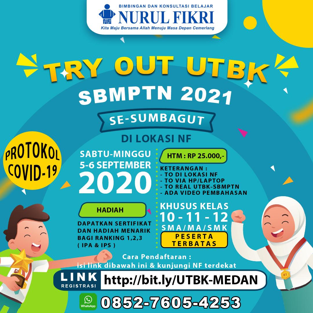 Pendaftaran To Utbk Sbmptn Se Sumbagut 2021 Bkb Nurul Fikri Medan