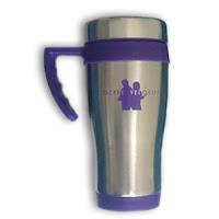 EV Travel Mug Black/Purple