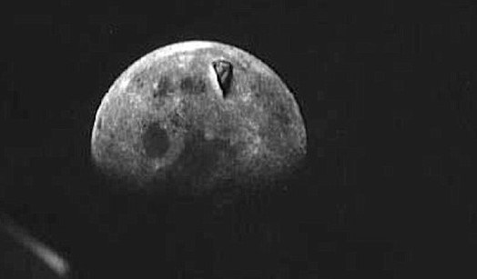 Apollo Images Show Huge Structure/Space Craft on the Surface of the Moon?