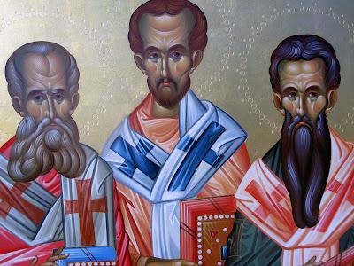 Αποτέλεσμα εικόνας για οι τρεισ ιεράρχεσ