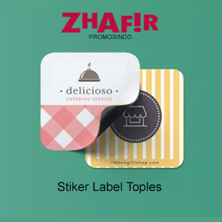 Cetak Stiker Label Toples
