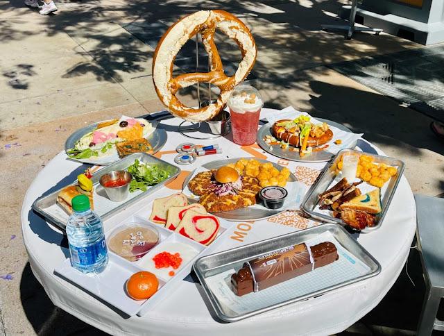 Marvel-Avengers-Campus-Disneyland-Opening-Pym-Test-Kitchen-Food-Beverage-Pretzel