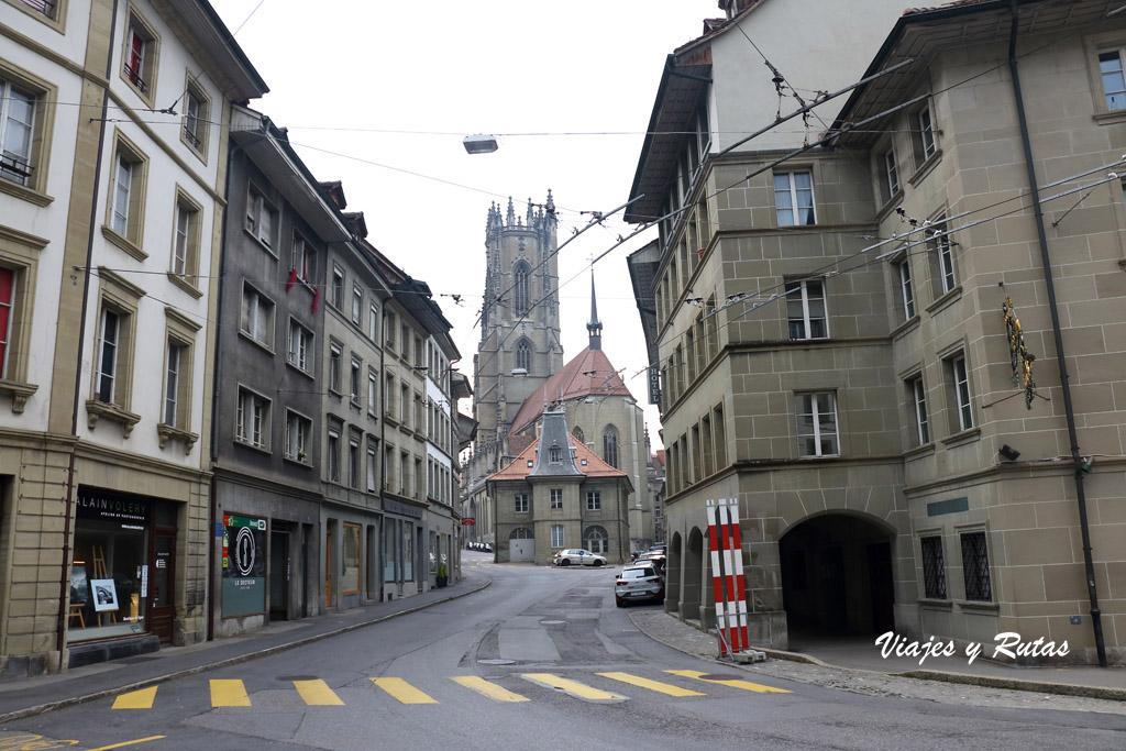 Rue des Bouchers, Friburgo