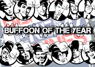 Behind Enemy Lines Radio's Buffoon of the Year!