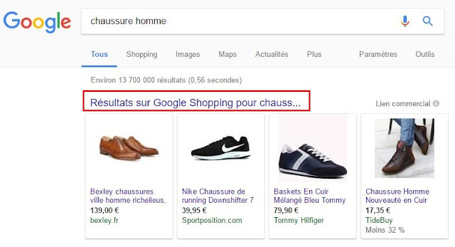 Google teste l'extension des annonces de Google Shopping aux sites AdSense