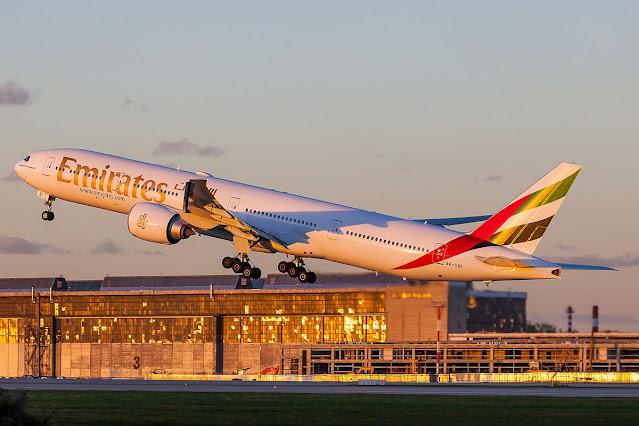 Emirates departure