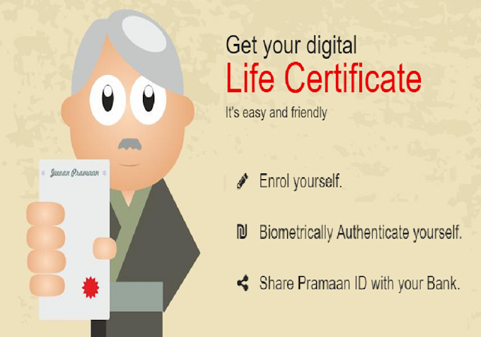 Jeevan Pramaan Certificate for Pensioners